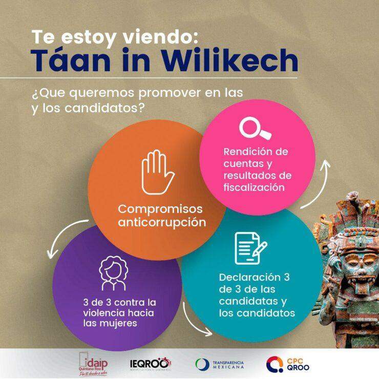Sistema Anticorrupción presenta el Observatorio Electoral 'Te estoy viendo'; ciudadanos podrán fiscalizar a los candidatos.