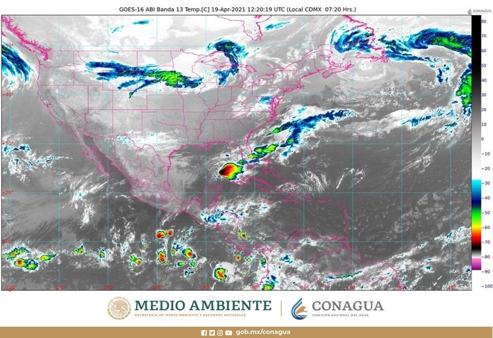 Pronóstico del clima para hoy lunes 19 de abril en Quintana Roo; se prevén algunos chubascos y temperaturas muy calurosas.