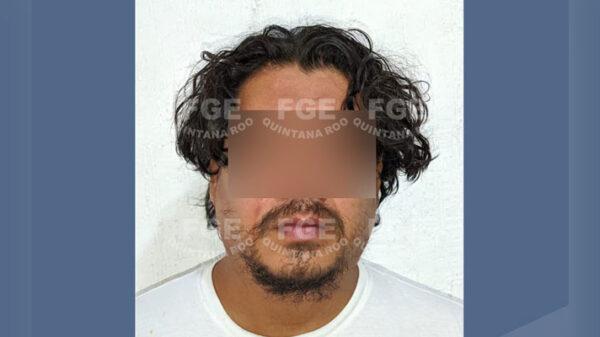 Captura la Fiscalía a presunto feminicida en Cancún.
