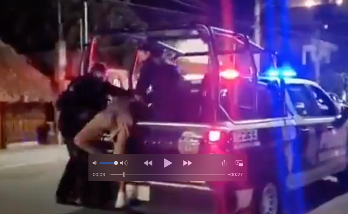 Otra rayita mas al tigre!, investigan a policías de Tulum por golpiza