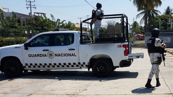 Por extorsión, detienen a elementos de la Guardia Nacional en Cancún