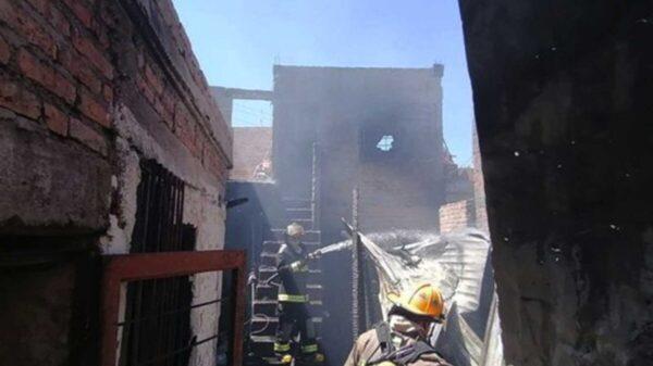 Se quema una casa y mueren dos niñas en Aguascalientes
