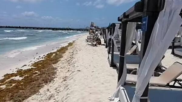 Desechan hoteleros de Playa del Carmen quejas de invasión de playas públicas