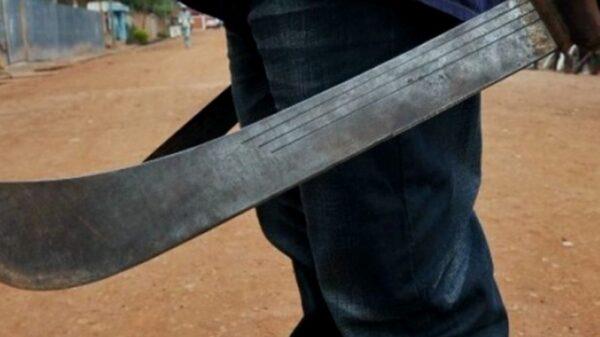 Con machete en mano joven de 17 años defiende a su madre de los golpiza en Tekax