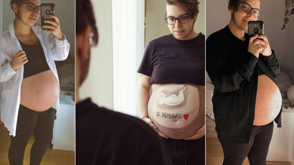 Joven transexual está a días de dar a luz en España