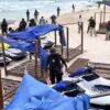 Celebran cancunenses liberación de playa Gaviota Azul