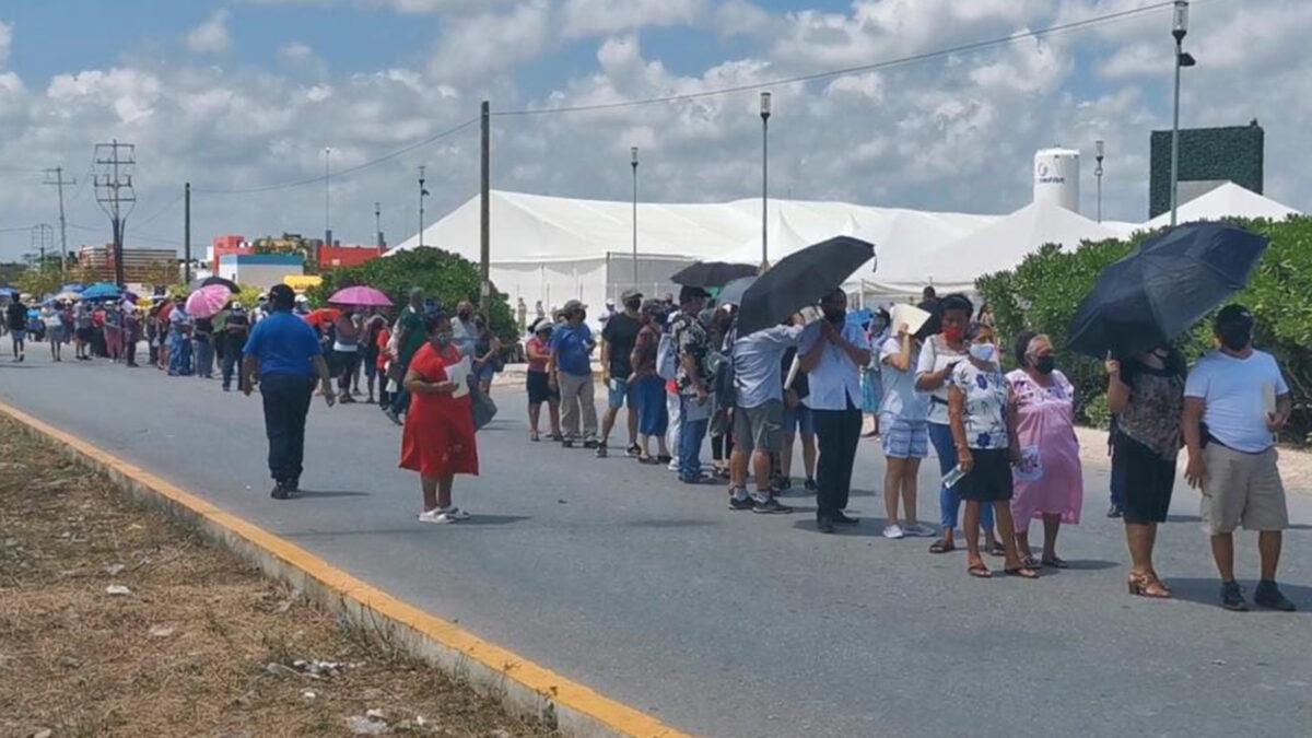 Maestros requieren 40 mil vacunas covid-19 en Quintana Roo