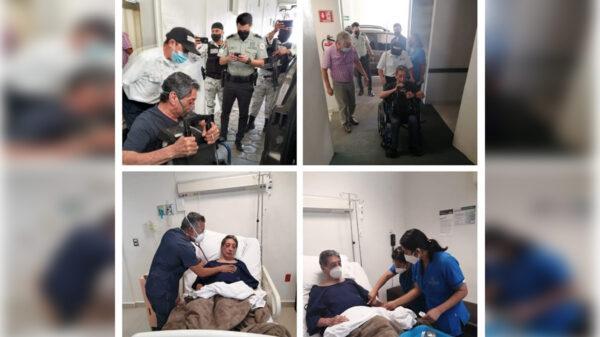 Ingresa de nuevo el ex gobernador Mario Villanueva al hospital