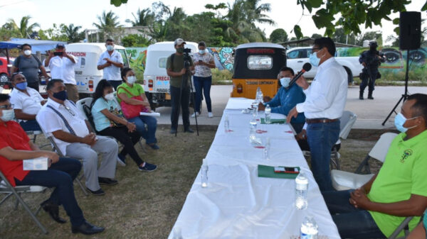 Recibe la CROC 50 solicitudes para moto taxis en Othón P. Blanco