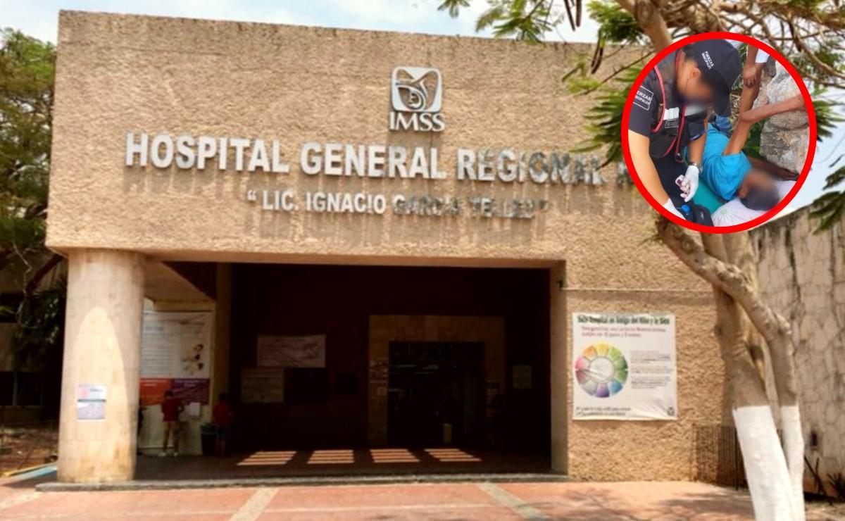 Adulto mayor muere tras caer de una altura de 3 metros en Mérida