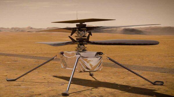 La NASA inició pruebas con Ingenuity, el helicóptero que la NASA envió a Marte, cuya misión es considerada como riesgosa