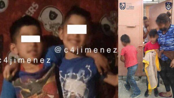 Aparecen hermanitos desaparecidos tras detención de sus padres