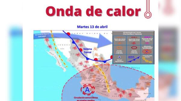 Ola de calor en Cancún a partir de mañana advierte Protección Civil