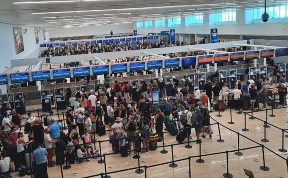 Supera Aeropuerto de Cancún las 450 operaciones
