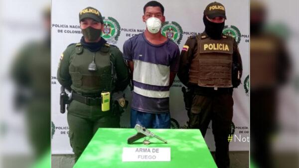 Desarrapado y en chanclas, atracaba con una pistola de medio millón de pesos