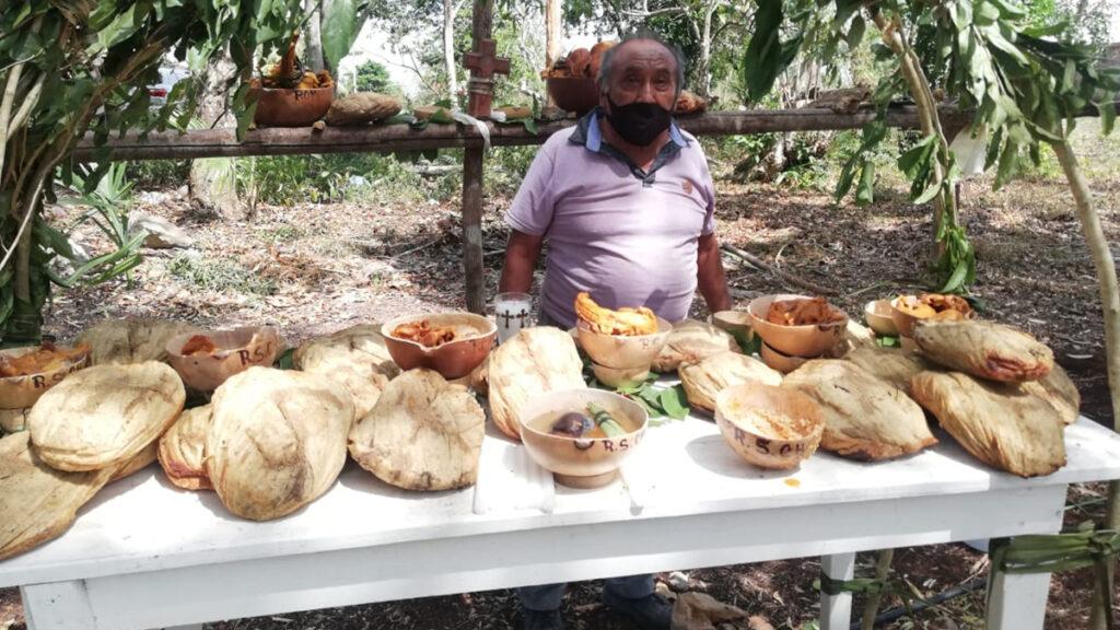 Palqueros realizan primicias a San Isidro Labrador