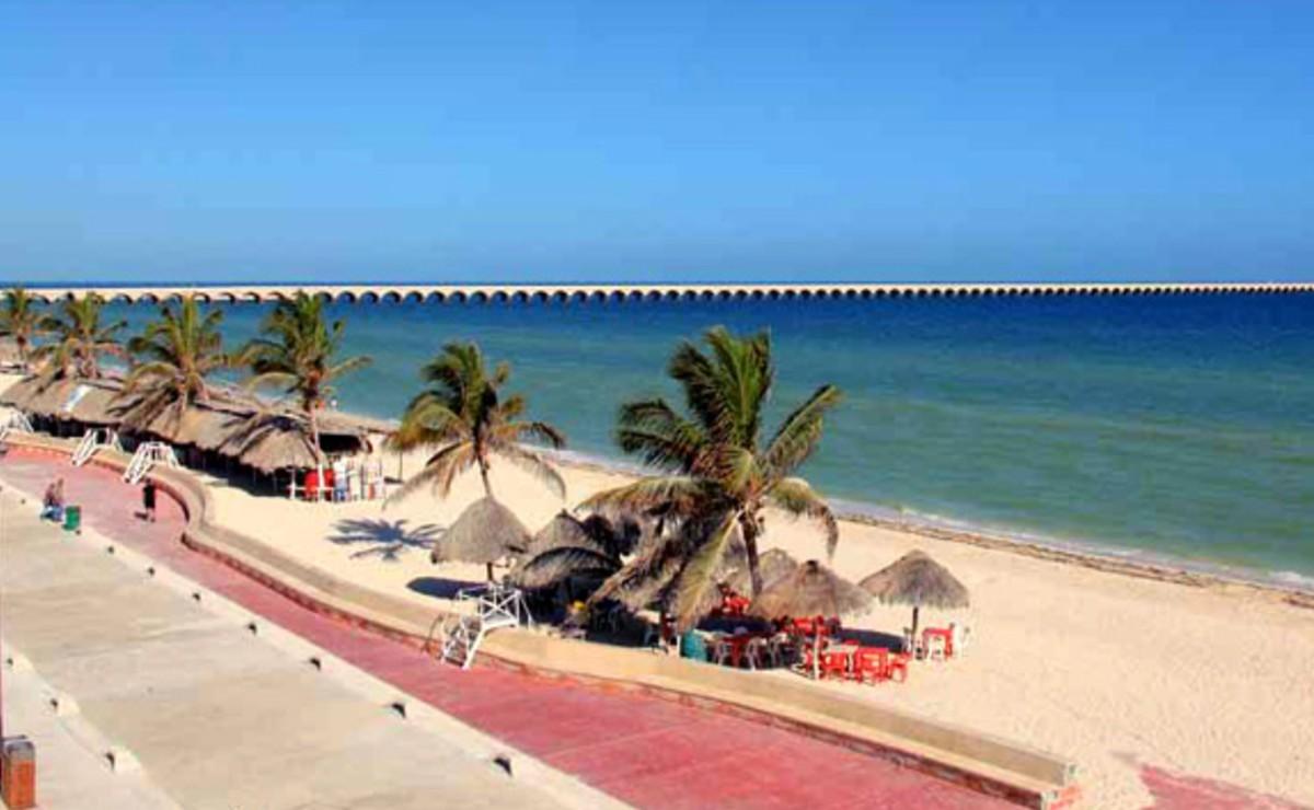 Reabren playas y malecones de Progreso, esperan arribo de visitantes