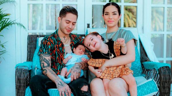 Revelan fotos del bebé de Kimberly Loaiza y Juan de Dios Pantoja