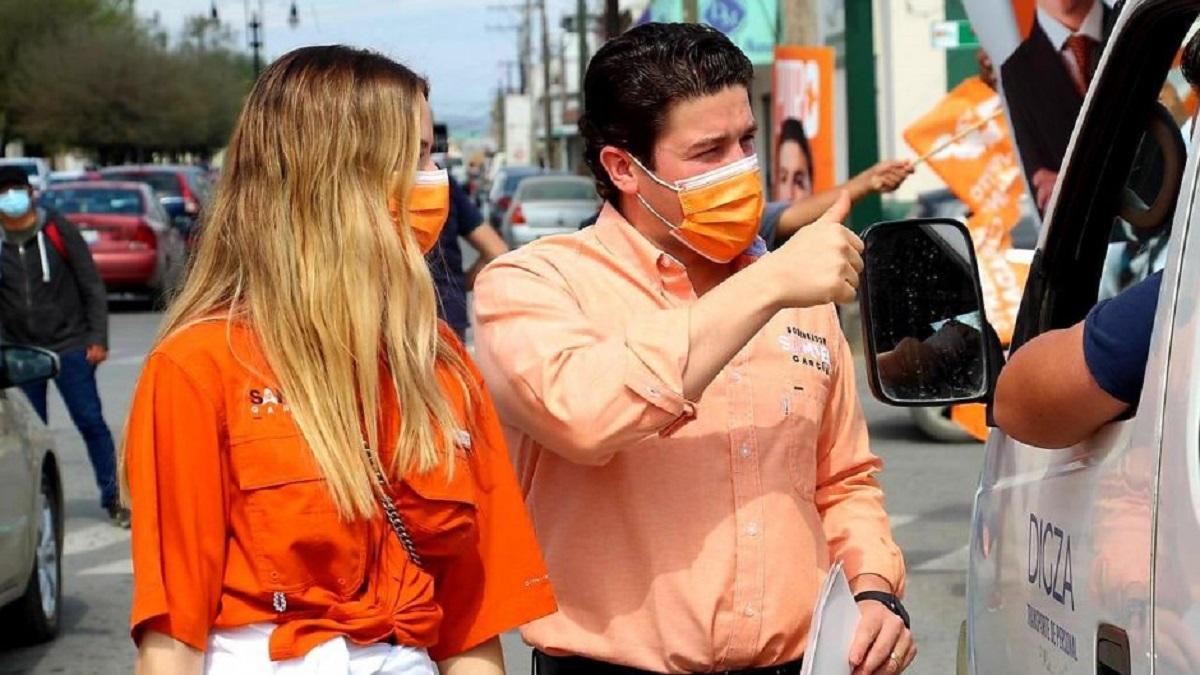 """Samuel García el más """"gastalón"""" en redes sociales; rebasa gastos"""
