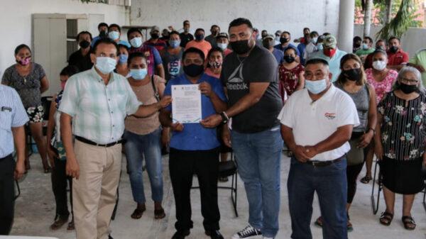 Entregan toma de nota a sindicato multigremios en Lázaro Cárdenas