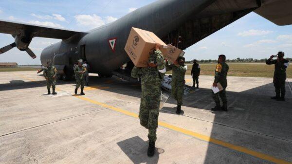 Llega a Yucatán otro lote de 2 mil 400 vacunas contra el Covid-19