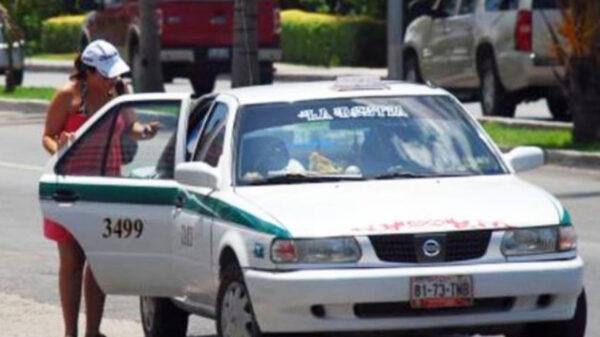 """Sacaran de las calles casi dos mil taxis """"chatarra"""" en Cancún"""