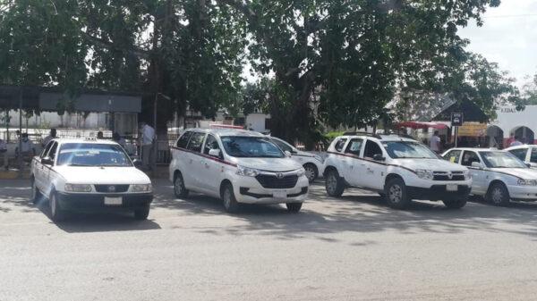 Se desploma actividad labora de taxistas en Kantunilkín