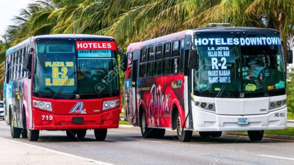 Reactivarán transporte público el cien por ciento en Cancún