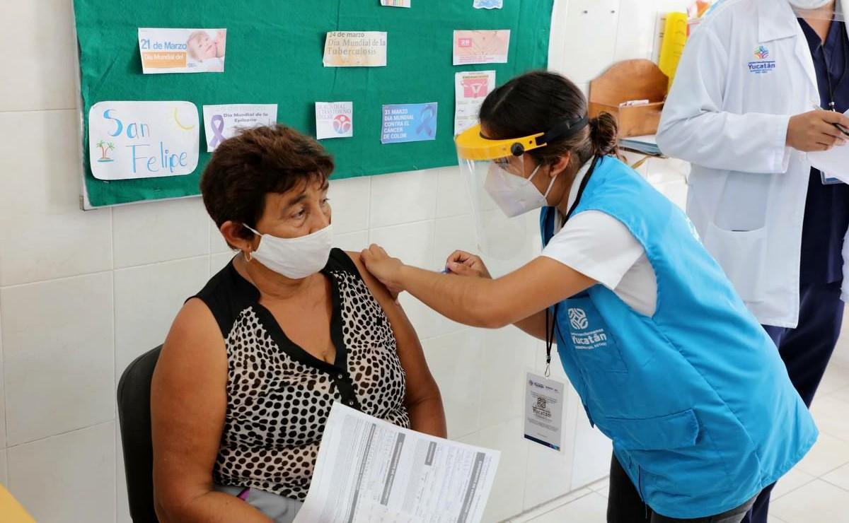 Adultos mayores de Mérida recibirán vacuna contra Covid el próximo martes