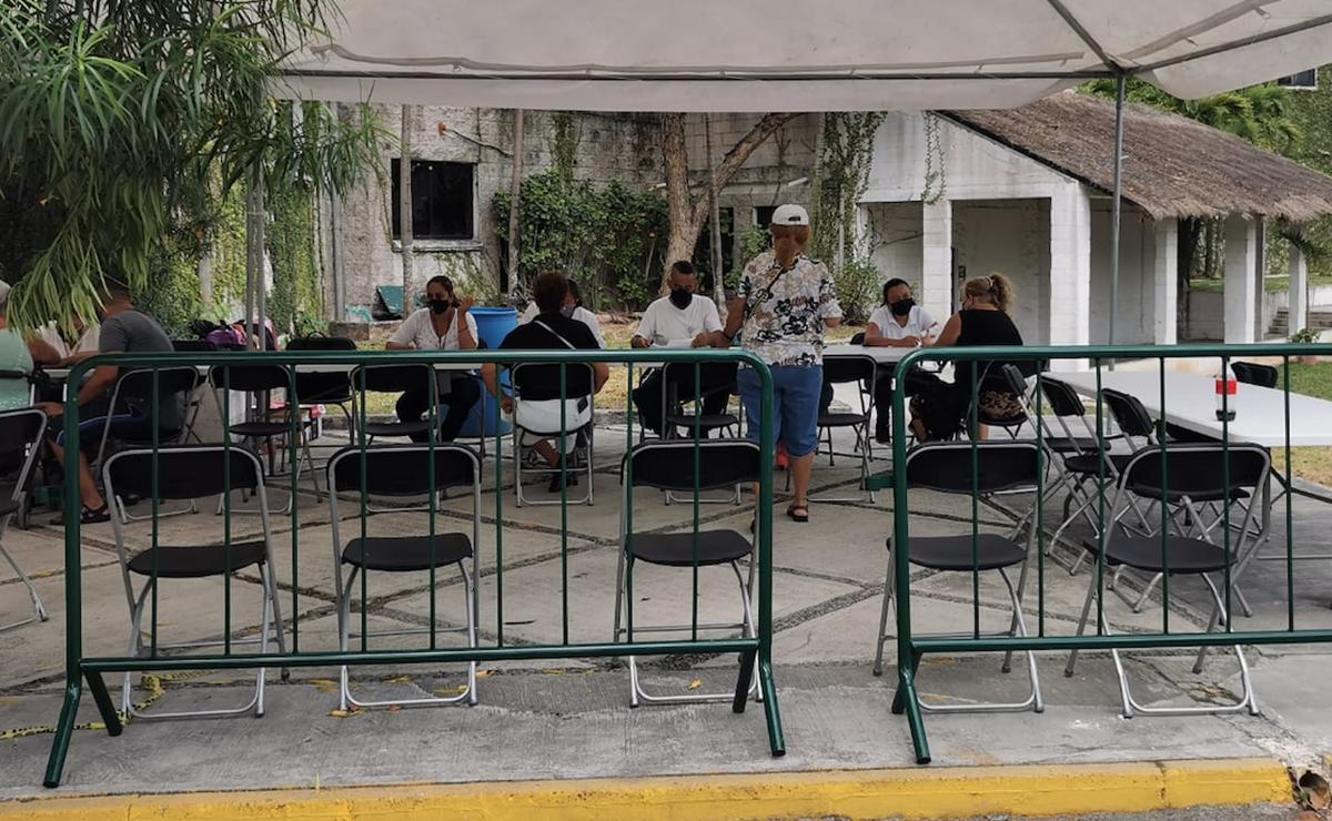 Último dÍa de vacunación a adultos mayores contra el covid-19 en Cancún