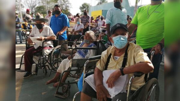 Zona Maya a punto de finalizar vacunación covid de adultos mayores