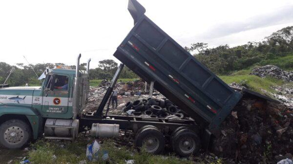 Mal informaron al diputado Gasca con el tema de la basura en Holbox.
