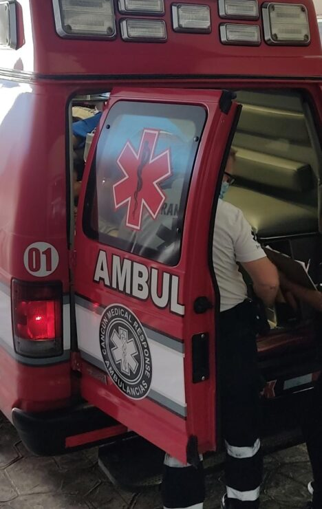 Balean a un sujeto en la delegación Alfredo V. Bonfil; los hechos se registraron anoche y el lesionado fue ingresado al IMSS de la 509.