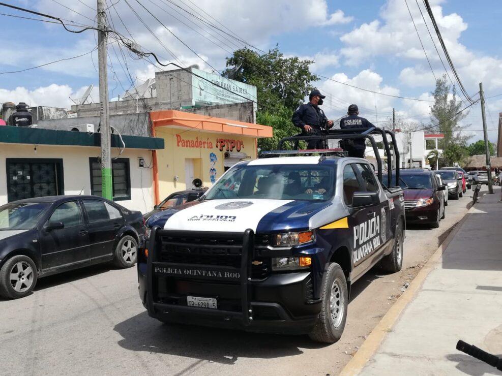 Exhorta la Policía de Lázaro Cárdenas a respetar los protocolos sanitarios.