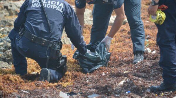 Recala 'ladrillo' de cocaína en la costa oriental de Cozumel.