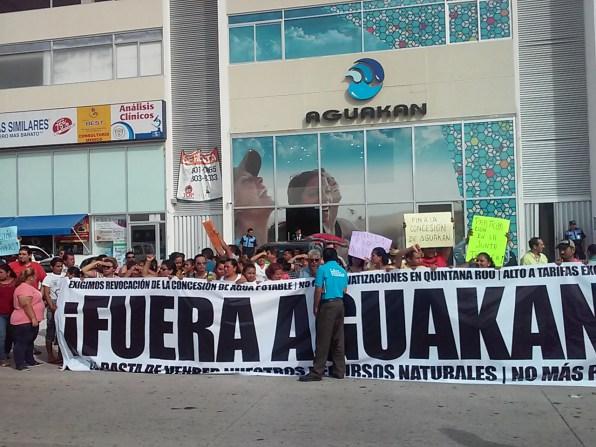 Por falta de recursos el Ieqroo suspende consulta popular contra Aguakan.