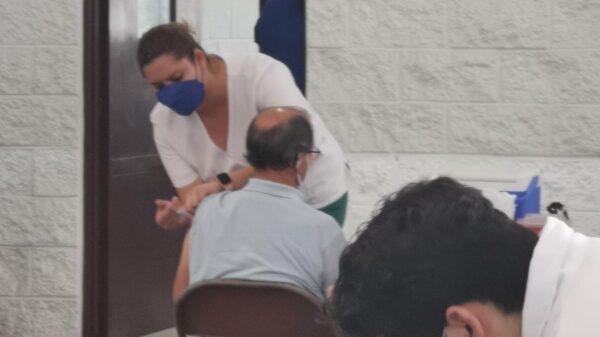 Sobraron más de 14 mil vacunas de AstraZeneca en Cancún.
