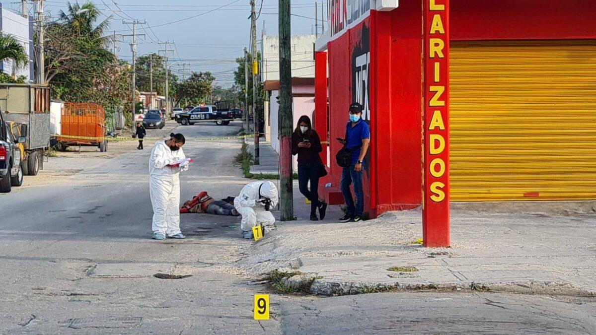Cancún: Ejecutan a un albañil en la Supermanzana 210 (VIDEO).