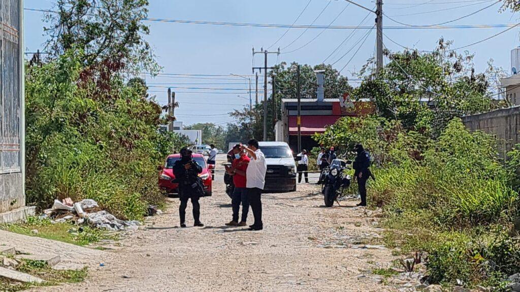 Cancún: Hallan a hombre ejecutado en la colonia Buenavista (VIDEO).