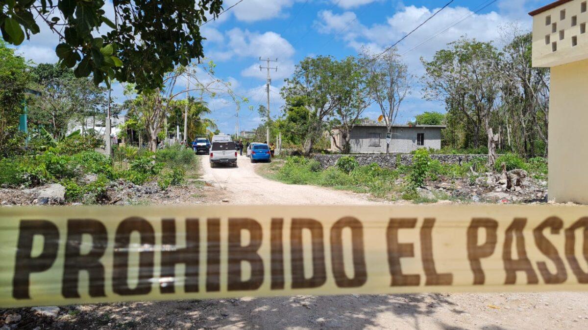 Feminicidio en la colonia El Milagro de Cancún.