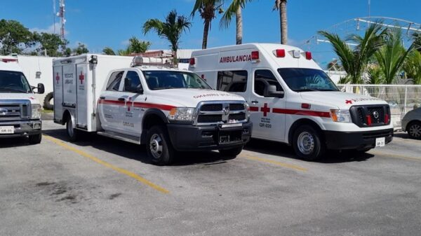 Se triplican por Covid las atenciones de la Cruz Roja en Cancún.