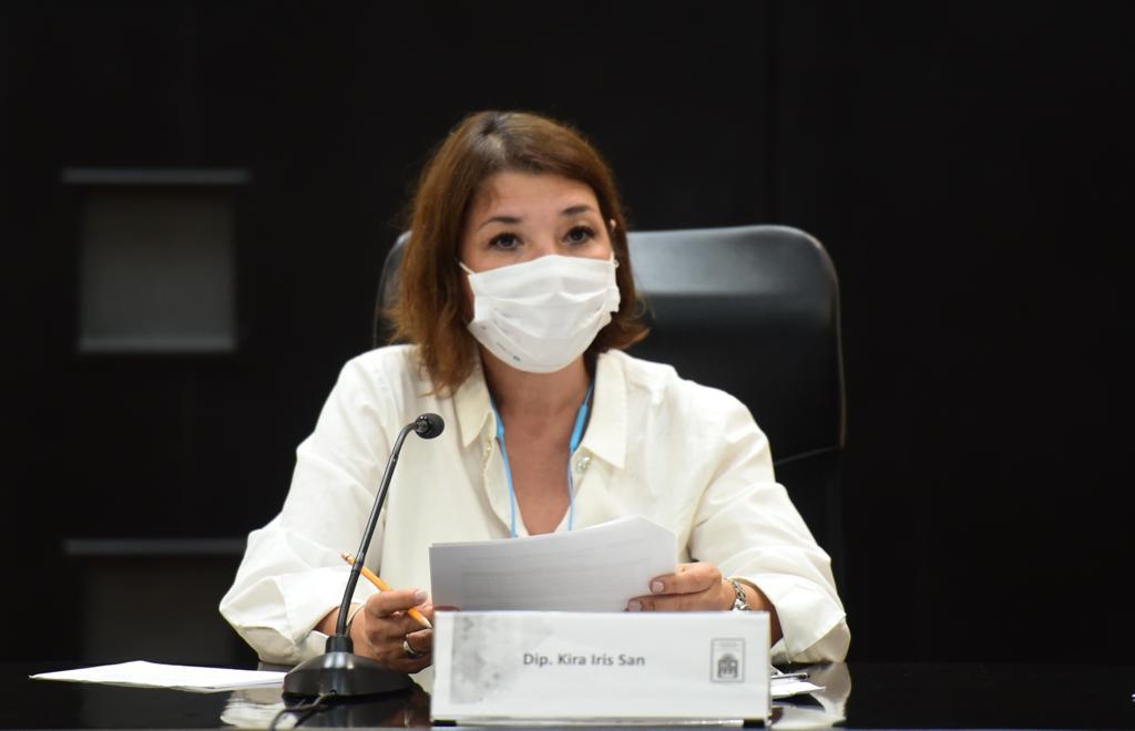 Advierte diputada Kira iris grave riesgo por datos biométricos por uso de celulares.