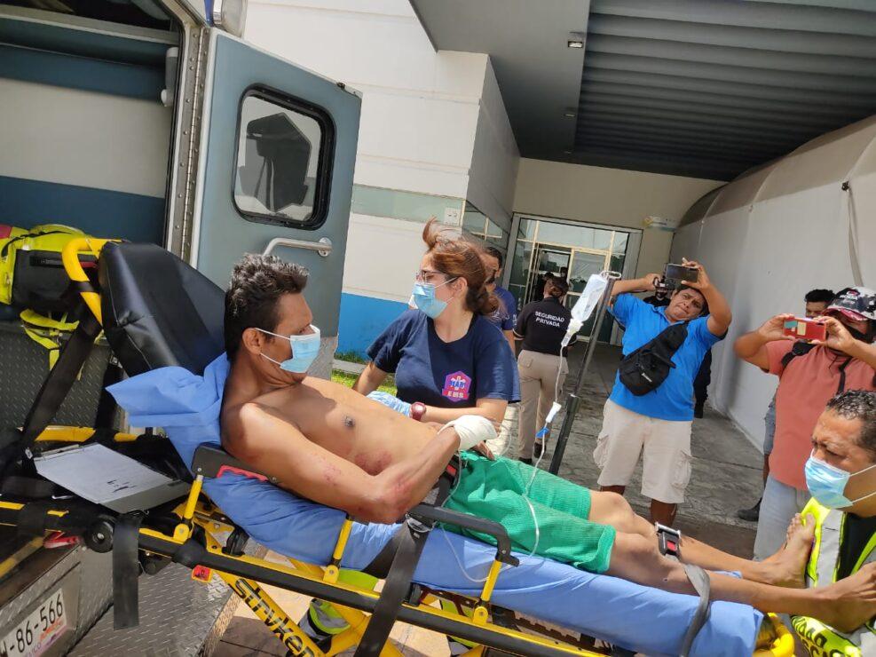 Cancún: Cinco personas baleadas en presunta casa de citas en la Supermanzana 67; hay dos muertos (VIDEO)
