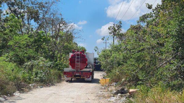 Queman otra unidad de Maya Caribe en Cancún (VIDEO).