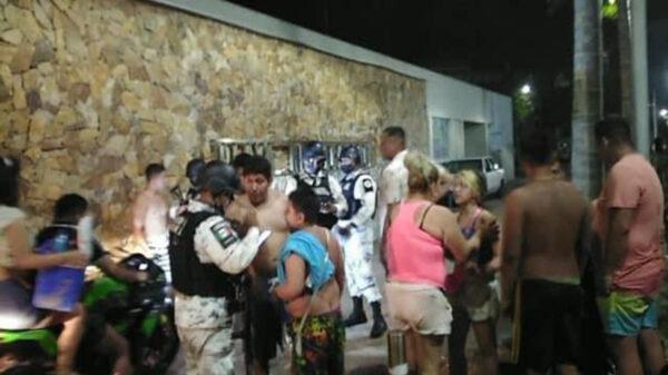 Un nuevo hecho violento en donde se involucra a turistas dejó un saldo de dos heridos en Acapulco, Guerrero