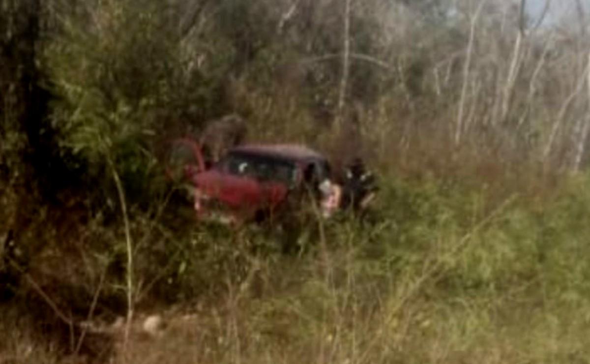Accidente en la vía Mérida-Cancún deja tres lesionados