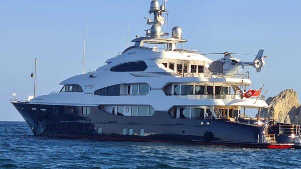 Attessa IV, el lujoso yate de 250 millones de dólares está en Los Cabos