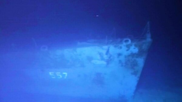 Encuentran barco de la ll Guerra Mundial bajo el mar