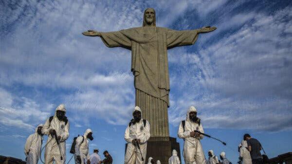 Supera Brasil las 4 mil 195 muertes por Covid-19 en 24 horas