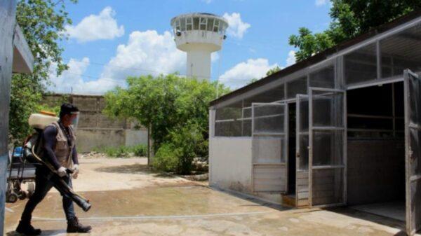 Yucatán: Personas de más de 60 años en el Cereso, serán vacunados contra el Covid